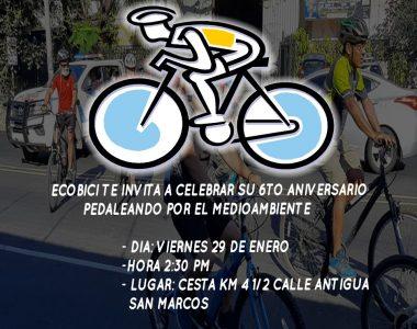 Bicicleteada en San Marcos