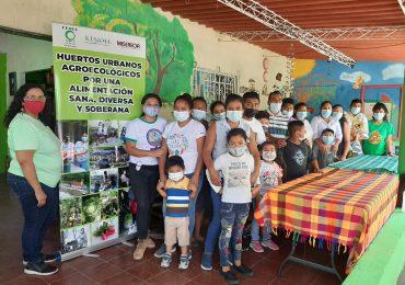 Familias participan en intercambio de experiencia agroecológica